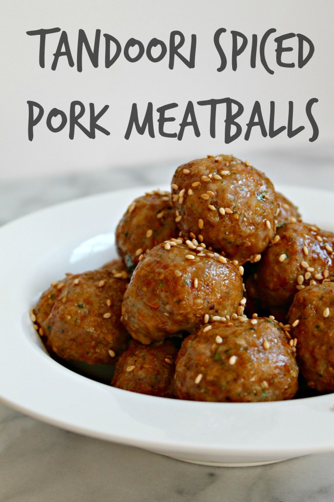 Tandoori Spiced Pork Meatballs recipe