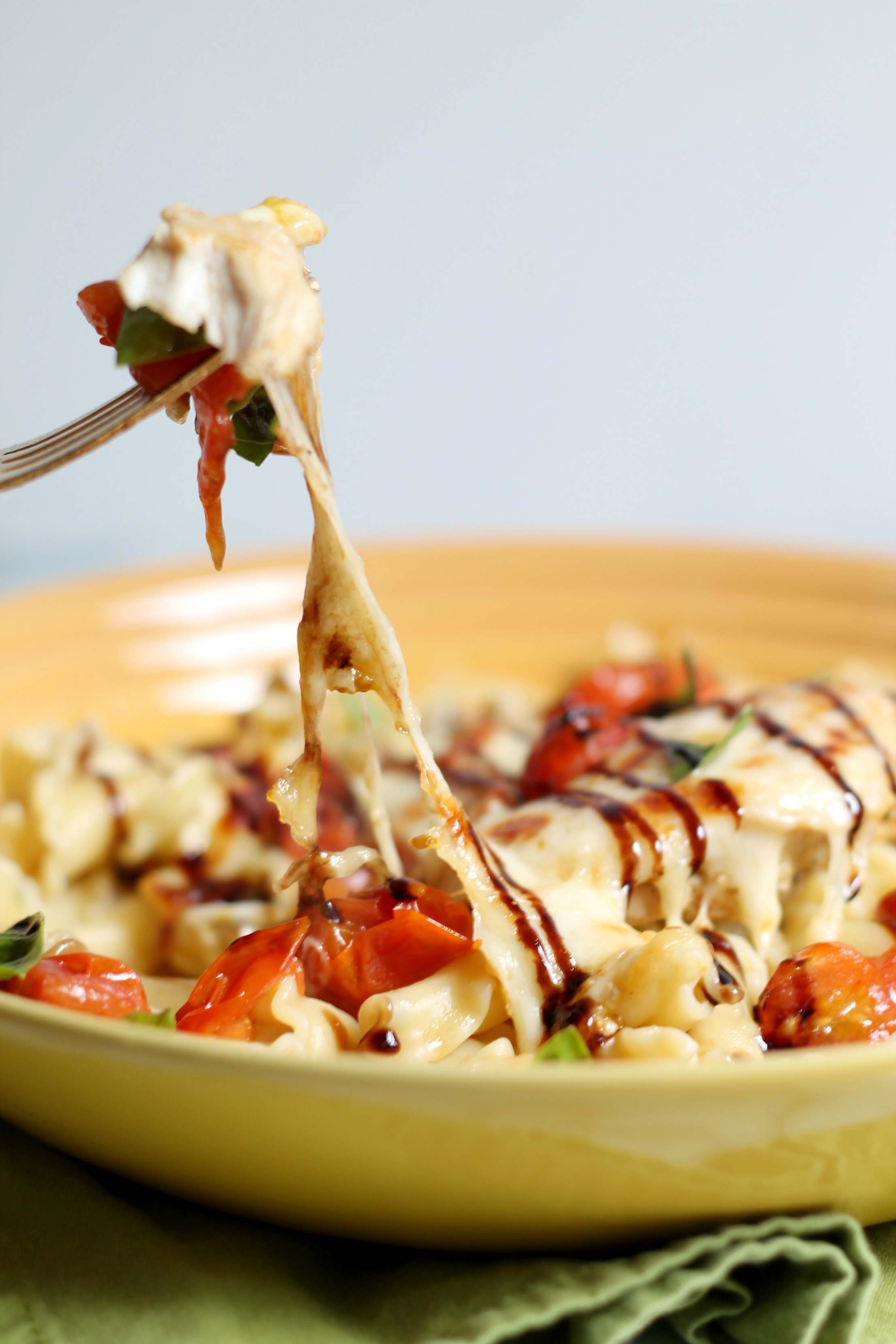 Balsamic Caprese Chicken Cooking With Books