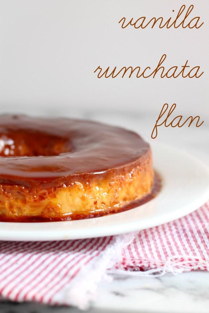 Vanilla Rumchata Caramel Flan Recipe