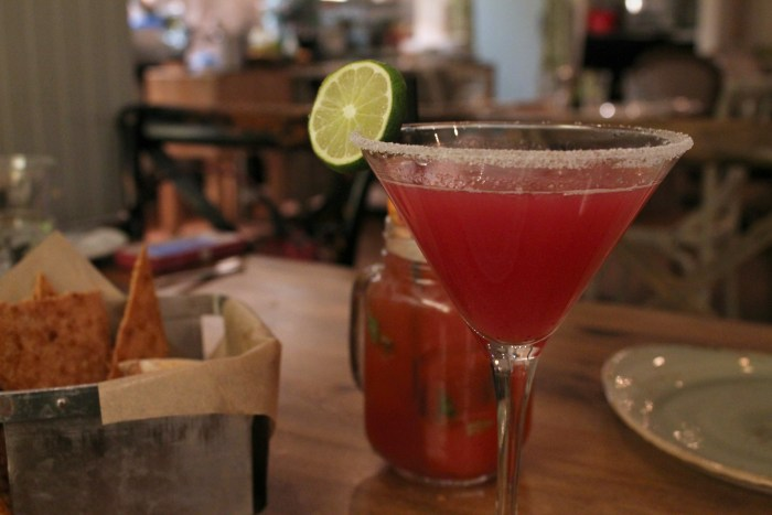 """Hidden gems in Las Vegas include a restaurant off of the Strip called """"Honey Salt"""" - The cocktails were amazing!"""