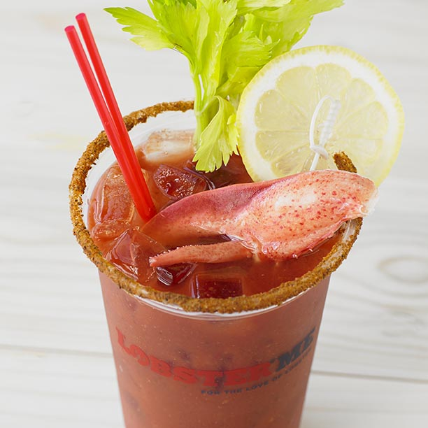 LobsterME Lobster Bloody Mary - Get the recipe on Cooking With Books