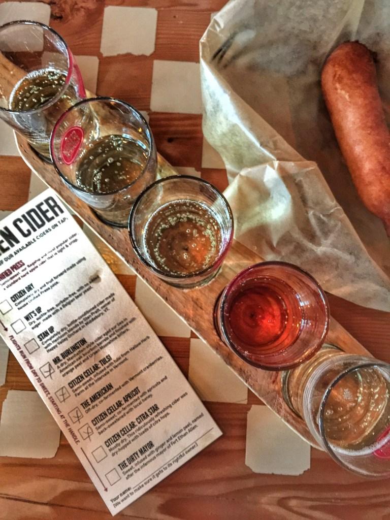 Foodie Guide to Burlington, VT - Citizen Cider