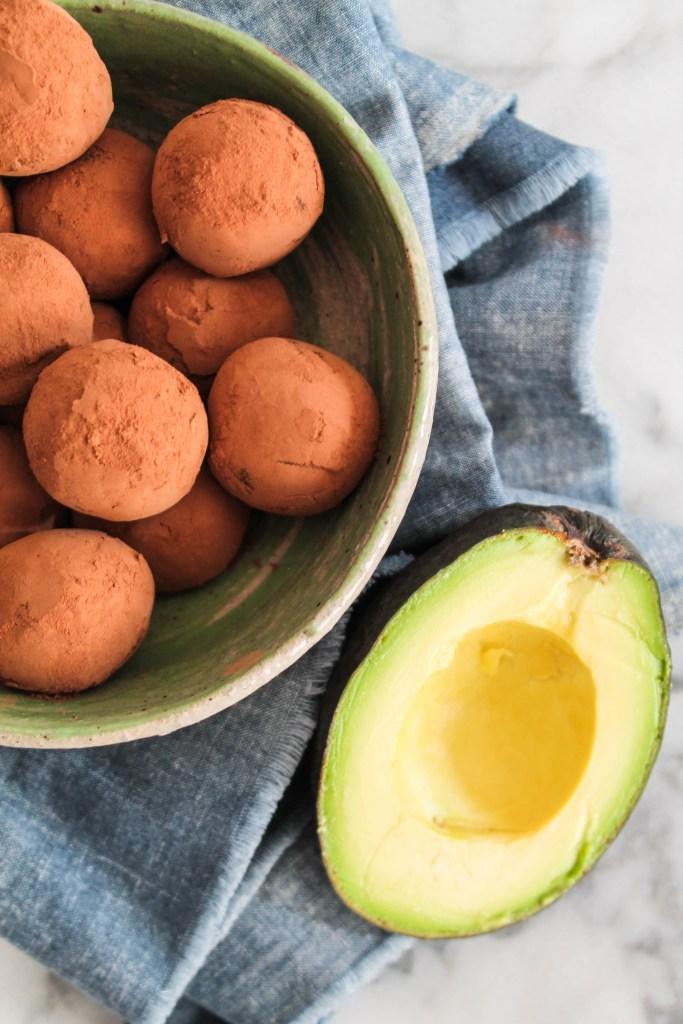 Avocado Fudge Truffles-9