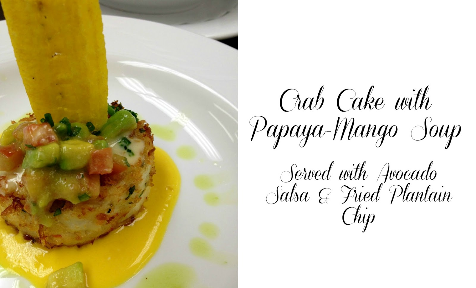 Caribbean Crab Cakes With Mango Salsa