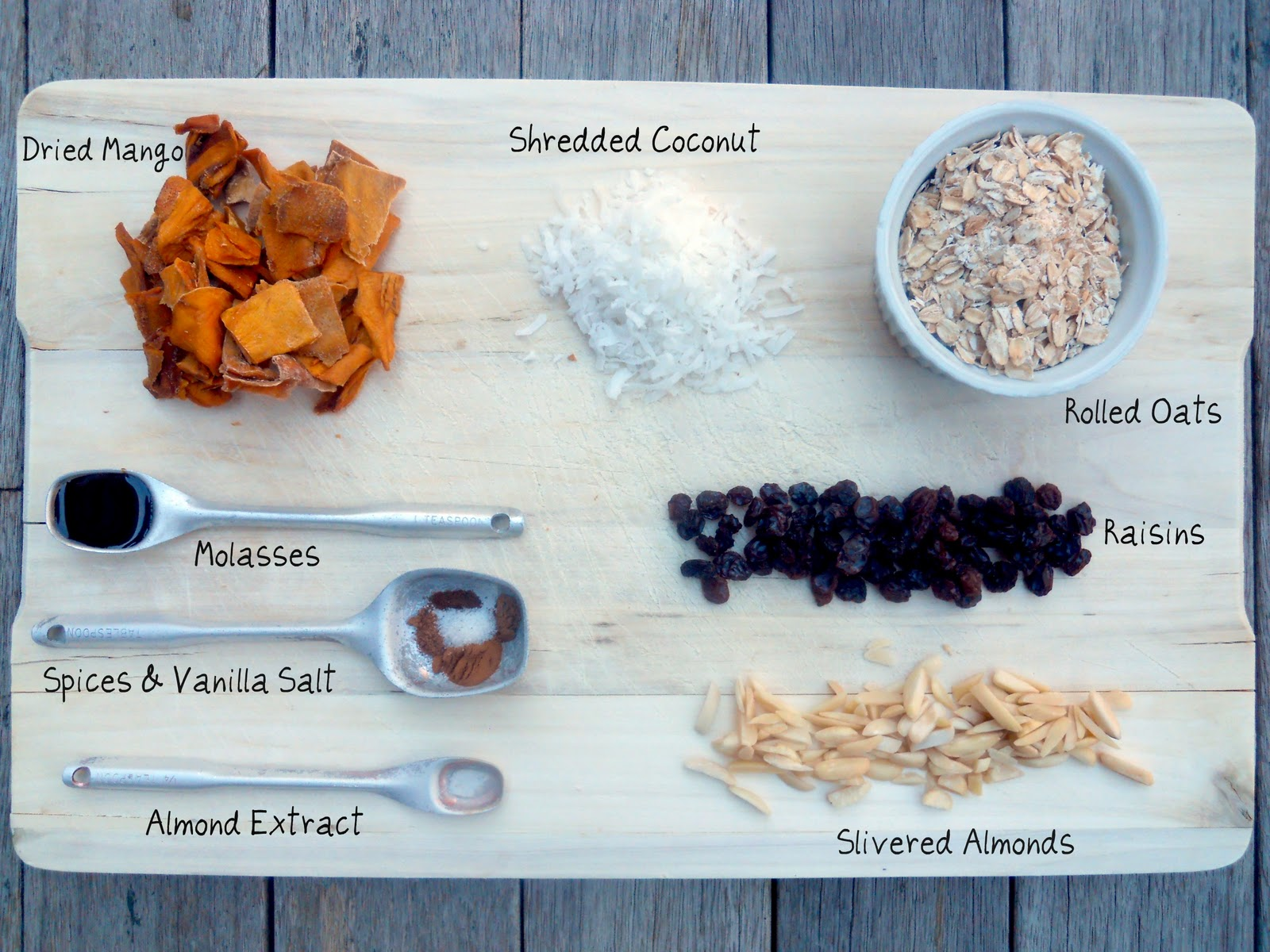 Mango-Coconut Granola