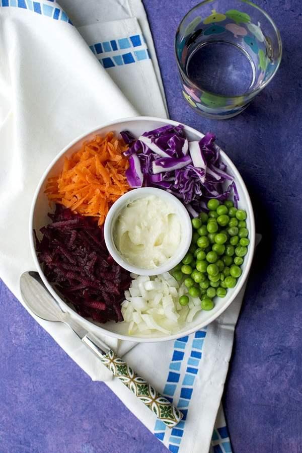Russian Grated Beet Salad