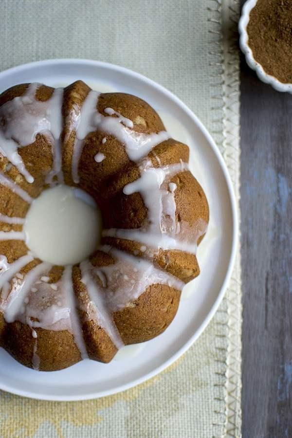 Chai Spiced Pound Cake