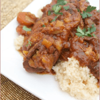 Spicy Moroccan chicken tagine