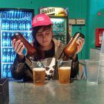 Pouring Beer at Konex