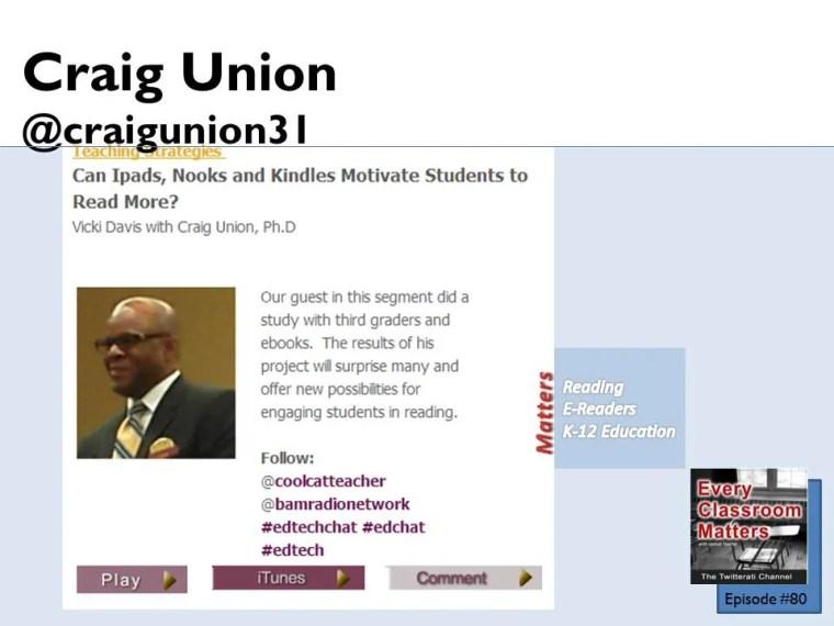 Craig Union #80