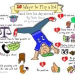 10 Ways to Flip a Kid and Turn Their Day Around
