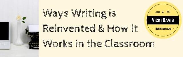 9 Ways Writing is Reinvented Webinar