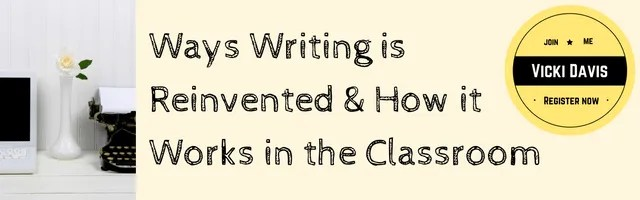 9 Ways Writing is Reinvented Webinar