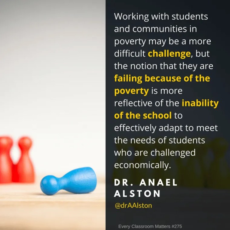 working with students in poverty