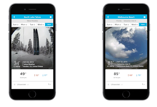 Sky2-Wetterstation-App