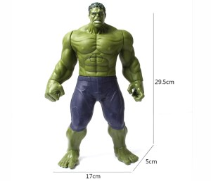 Hulk-Actionfigur-Maße