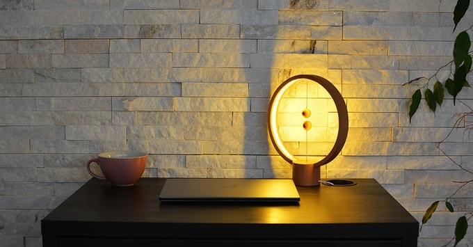 HENG - Ein Ambient-Light mit schwebendem Schalter