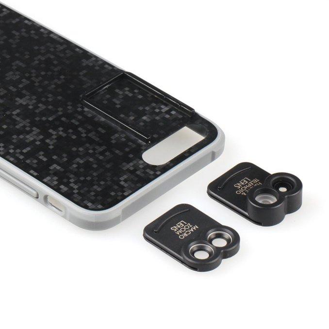 Kamerar-Objektivaufsatz-Makro-Fischeye-Fischauge-Iphone-7-plus-Dualkamera