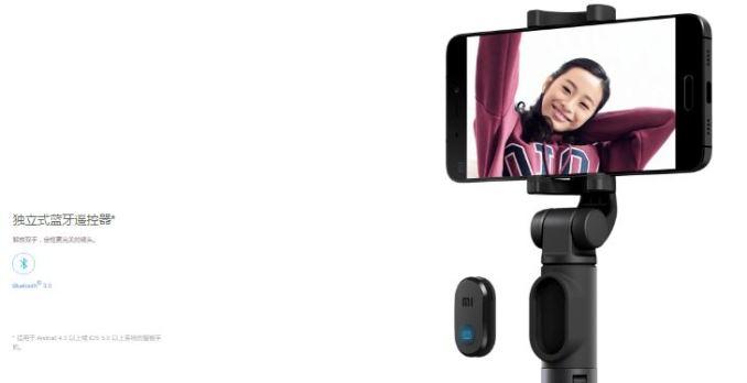 Xiaomi-Selfie-Stick-Tripod-Stativ-Bluetooh-Fernbedienung-6