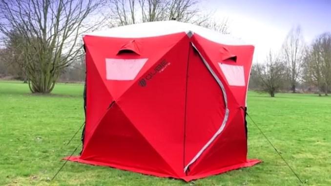 Qube-Tent-Zelt-Würfelzelt-Wurfzelt
