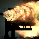 Navy Railgun can shoot at a projectile at Mach 7