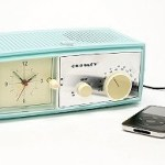 The Crosley Table Alarm Clock Speaker
