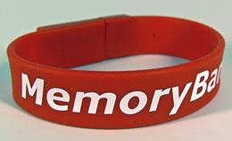 USB memory armband