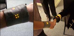 iBand handshake gadget