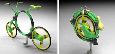Locust folding bike