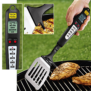 BBQ Spatula With Thermometer