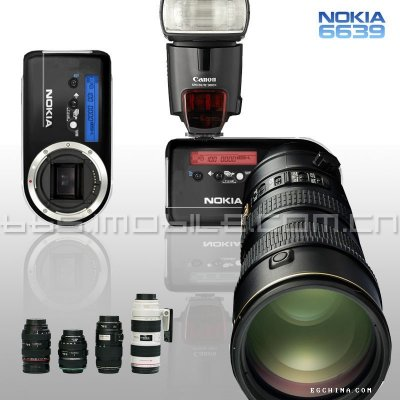 nokia 6639 SLR zoom