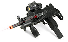 Airsoft Submachine Gun with Laser Sight