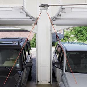 Dual Laser Parking System