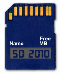 Info SD Card