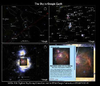 Google Sky/Earth/Flight Sim