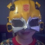 You probably won't catch me wearing these glasses at the Transformers 3-D movie