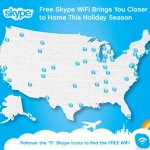 Skype helps US travelers connect for free with Skype WiFi