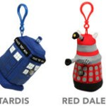 Doctor Who Talking Plush Backpack Charms