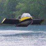 Flying Hovercraft for the uber rich