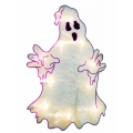 Shimmer Lighted Window Decoration, Ghosty