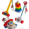 Fisher Price Classic Toy Keychains