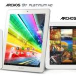 Archos expands tablet horizons with Platinum series