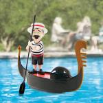 Serenading Pool Gondolier