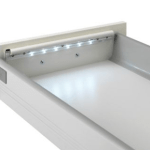 DIODER drawer lamp only turns on when you need it