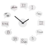 Tick Talk Wall Clock lets you customize your clock face