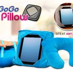 The GoGo Pillow gently holds your tablet in place