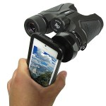 Binocular Adapter for iPhone 5 adds some serious zoom