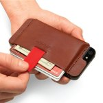 Wally iPhone Wallet Case stores all of your essentials with your phone
