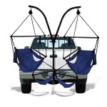Hamaka Trailer Hitch Stand and Chair Combo – just lounging around