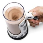 Messless Chocolate Milk Mixing Mug does away with the clanging of spoon